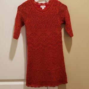 Girl's sweater dress Cat & Jack size 6/6x